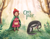 Once in the forest ...