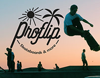 """PROJET SCOLAIRE : Création d'un logo """"Proflip"""""""