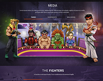 Street Fighter HD Poker web site proposal