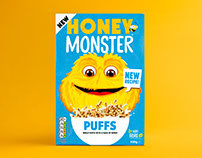 Honey Monster Puffs
