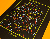 Virunga Screenprint