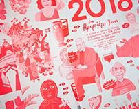 Bob & Hartovasilion Calendar 2018