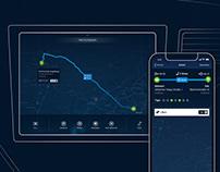 Fleedoo – UX / UI for Autonomous Driving Taxis