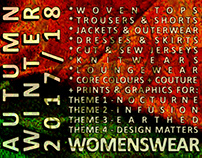 WOMEN'S WEAR - AUTUMN WINTER 2017/2018 TREND FORECAST