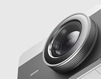 Retro mini camera