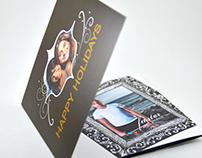 print design // holiday card