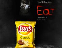 EAT - détournement d'affiche cinéma