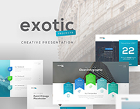 Exotic Project Presentation Template