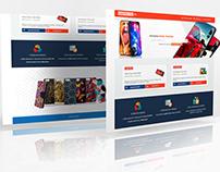 Projekt sklepu internetowego dla kreator etui