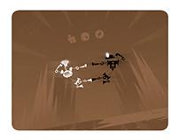 POW - a kung-fu robot animation