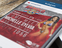 Eat Me Guilt Free Arnold Classic Social Media Campaign