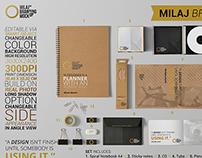 Milaj Branding Mockup