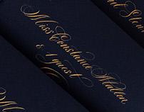 Calligraphy invitations 2016—2017