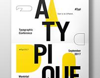 Typographic Conference Invite Poster
