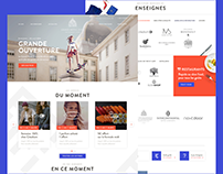 Grand Hôtel-Dieu — Website and Mobile App