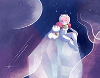 Official Bee and Puppycat cover for BOOM! Studios