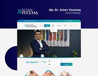 Op. Dr. Altan Yücetaş UI/UX Design