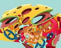 Wild Colors Kids Helmet Mini Project