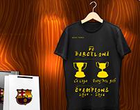 T-shirt Barcelona