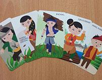 ILLUSTRATION | Malaya Historical Warriors cards