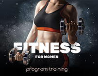 Fitness for women: program training