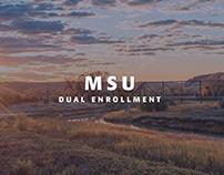 MSU Dual Enrollment Brand Identity