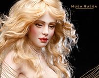 MUSA RUSSA: branding and support