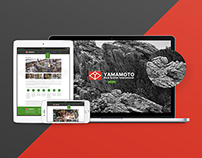 Yamamoto Rock Splitter International Website design
