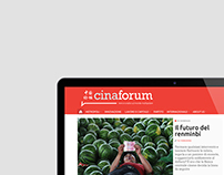 Cinaforum - Branding, Web Design and Development