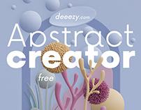 Free Abstract 3D Scene Creator