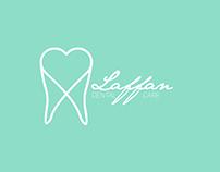 Laffan Dental Care Concept Logo