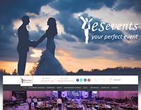 YesEvents Website Design & Development