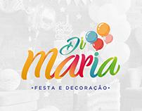 BRANDING | DI MARIA - Festa e Decoração.