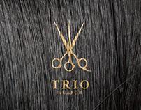 Trio Kuafor Logo & Identity