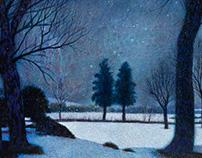 Art Work :: Winter Land scape