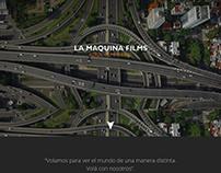 LA MAQUINA FILMS | DISEÑO WEB