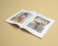 A4 Magazine Free Mockup