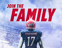 Join The Family (Athletics Recruitment)