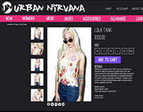 Urban Nirvana Website
