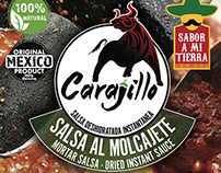 Carajillo Mortar Salsa Label