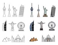 Monument Icons