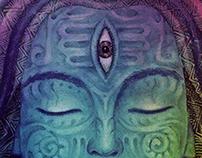 Shiva - psychedelic