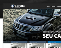 Lovatto Veículos - Website