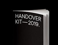 Handover Kit - Editorial Design.