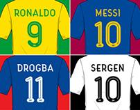 Football Shirt Typeface