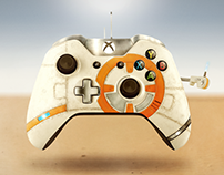 Star Wars: BB-8 Xbox One controller