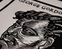 2018 LINOCUT&INK PORTRAITS, JANUARY