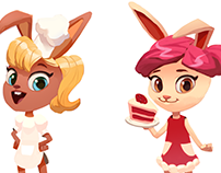 Bunny Bakery Game Concept
