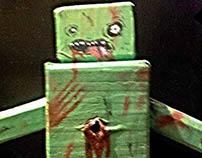 Cardboard box-zombie