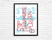 Stop. Collaborate. Listen. Print